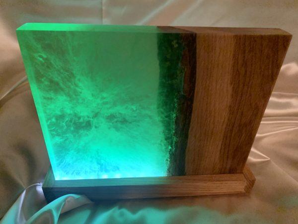 Tischlampe Forest Green